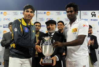 Sri Lanka and Pakistan last faced each other in December 2013