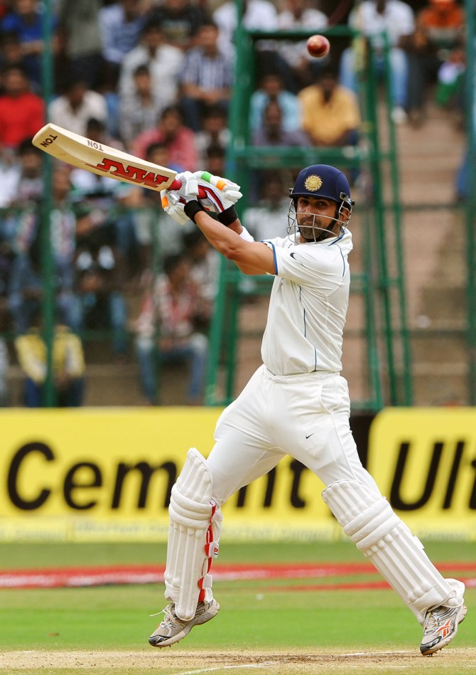 Gambhir's last Test for India came in December 2012