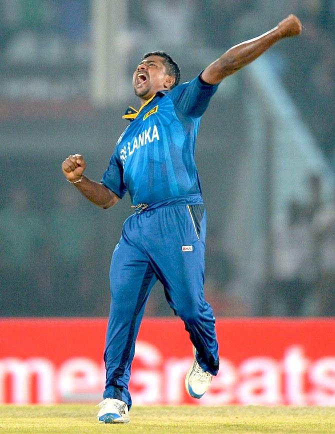 """""""It has been decided by the national selectors to send Rangana Herath for the Sri Lanka tour of England, in place of Suranga Lakmal who is injured"""""""