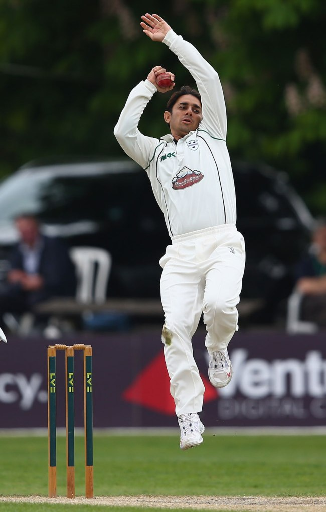 Vaughan and Broad both questioned the legality of Ajmal's bowling action