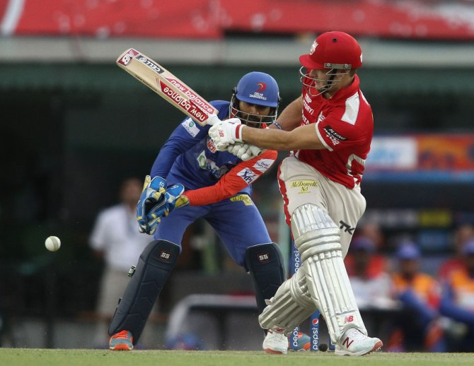 Miller saw Punjab home with an unbeaten knock of 47