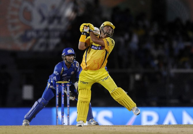 Raina was named Man of the Match for his stellar knock of 54