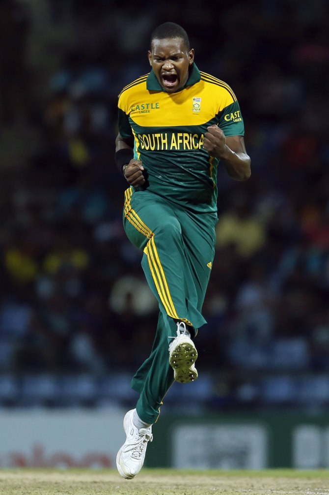 Lonwabo Tsotsobe is the only black African to regularly play for South Africa