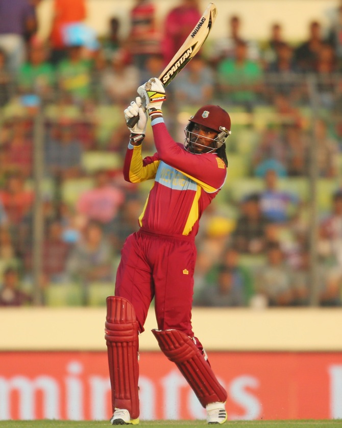 Fans in Dominica will be disappointed not to see Gayle's incredible hitting ability