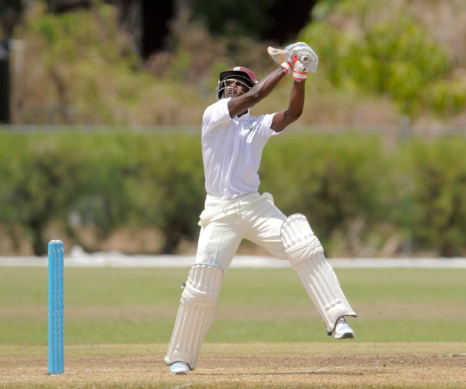 Blackwood averages 40.38 in first-class cricket
