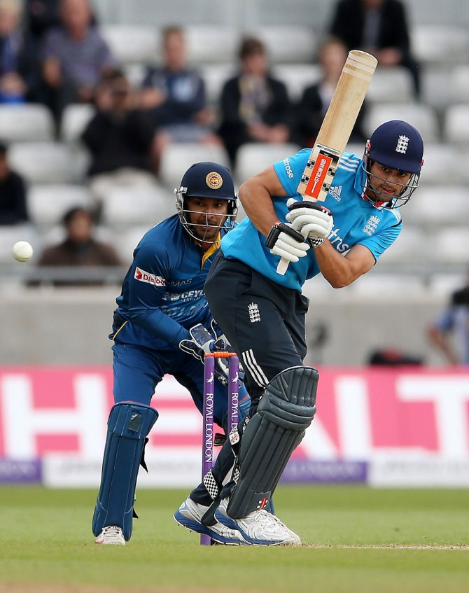 Cook scored a gutsy 56