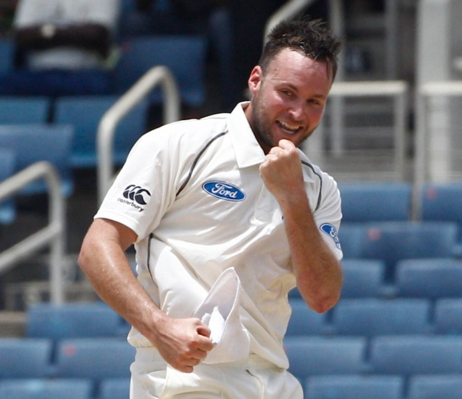 Craig took four wickets in the first innings of his Test debut