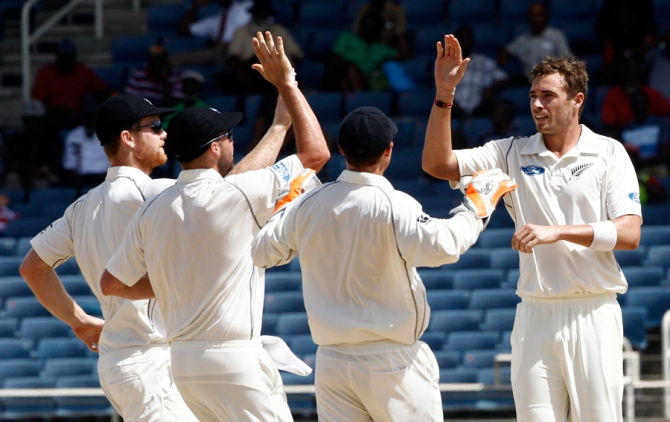 Southee now only trails Dale Steyn, Ryan Harris, Vernon Philander and Mitchell Johnson