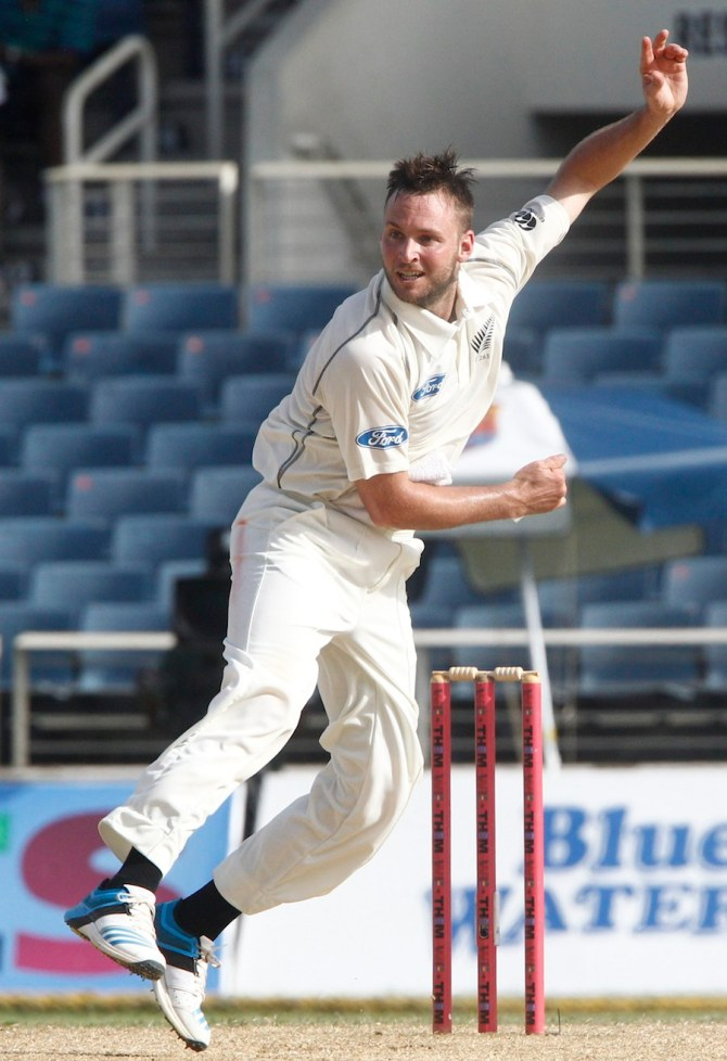 Craig recorded the best bowling figures for a New Zealand debutant