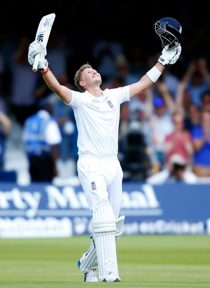 Root became the fourth-youngest England batsman to score a double century