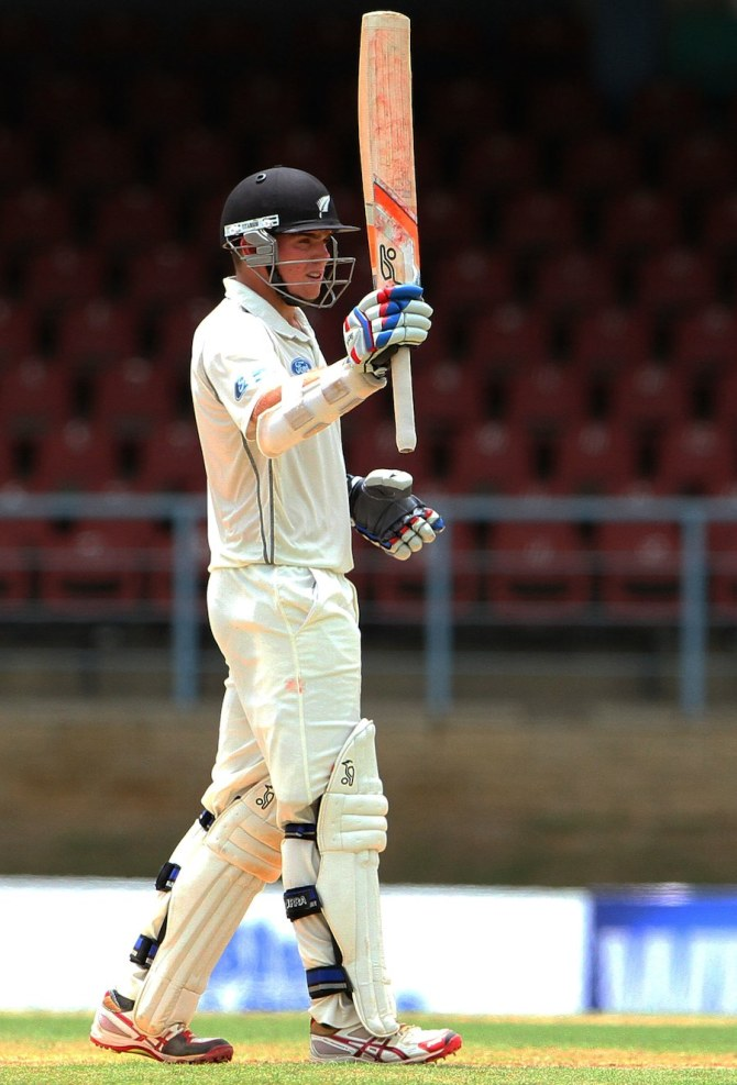 Latham struck 10 boundaries during his brilliant knock of 82