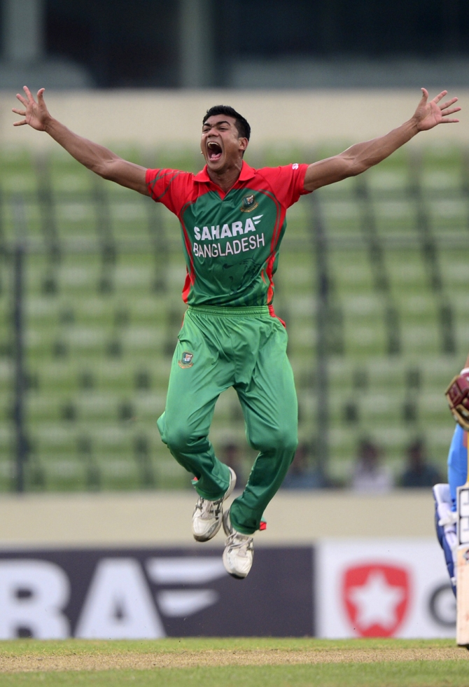Ahmed became the first player under the age of 20 to take a five-wicket haul on debut in an ODI