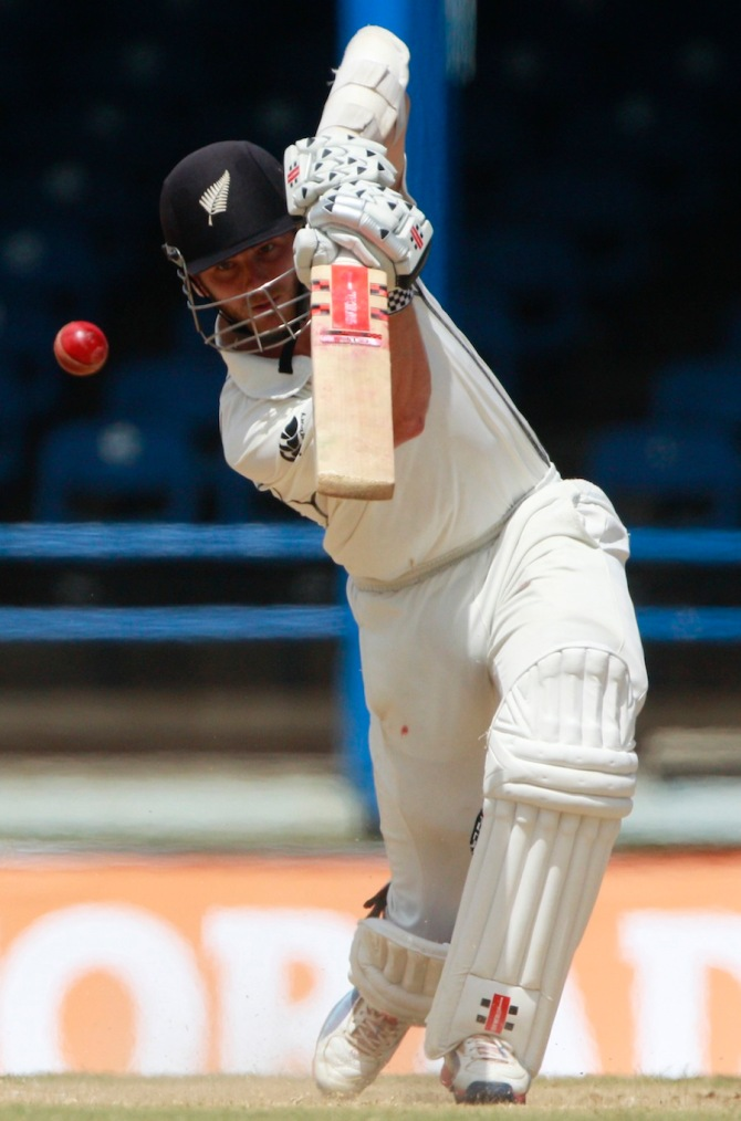 Williamson struck five boundaries during his brilliant knock of 52