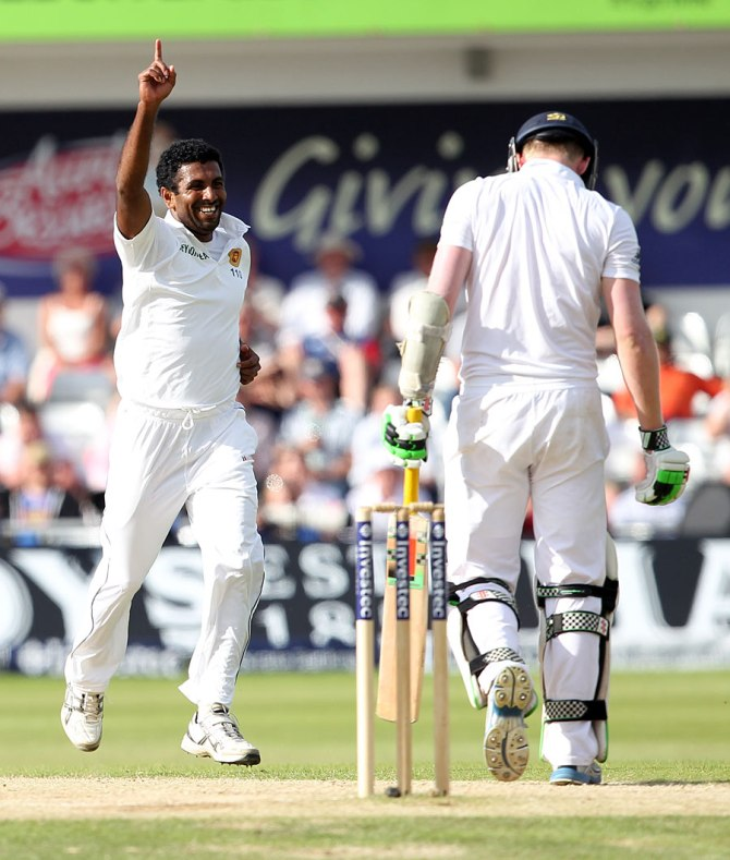 Prasad dismissed Robson, Cook, Ballance and Bell in quick succession