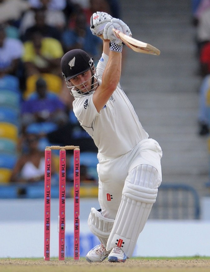 Williamson struck 11 boundaries during his unbeaten knock of 58