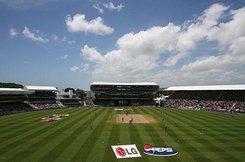 The Kensington Oval will host the third Test
