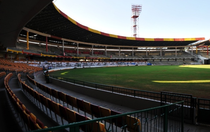 The M Chinnaswamy Stadium in Bangalore will host the final