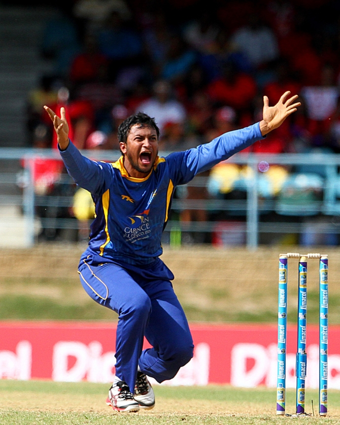 Al Hasan was the second-highest wicket-taker in the inaugural edition of the CPL