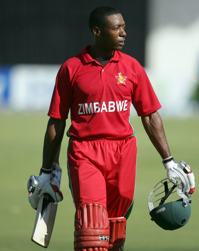 Sibanda only made four runs in the first ODI