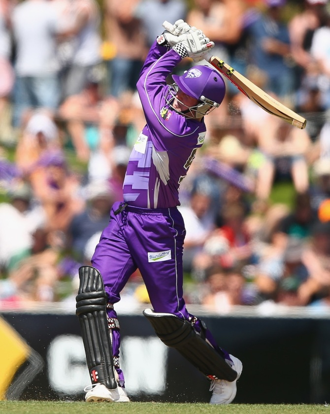Dunk was the Player of the Tournament in last year's Big Bash League
