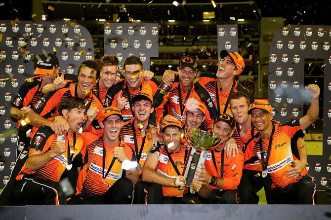 The Perth Scorchers are the defending champions