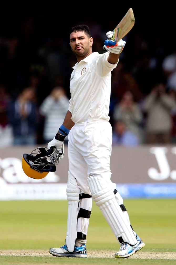 Yuvraj's gutsy 132 was not enough to save his side