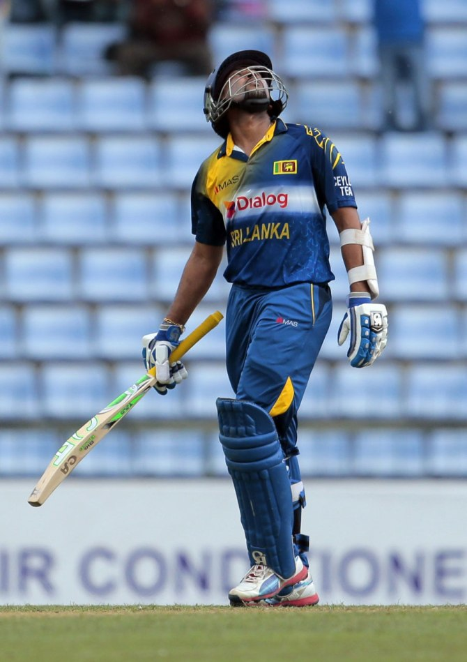 Dilshan excelled with both the bat and ball