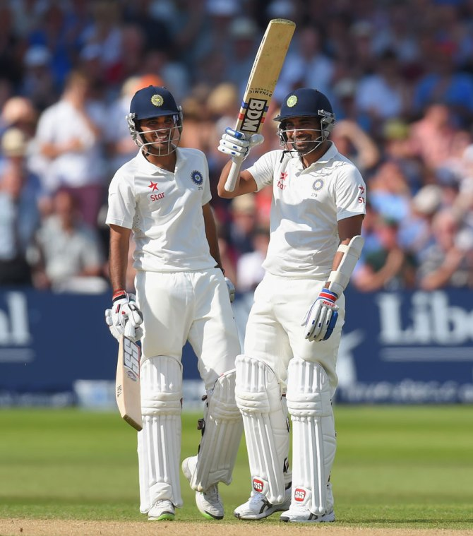 Kumar and Shami frustrated England with their half-centuries and record-breaking 111-run partnership