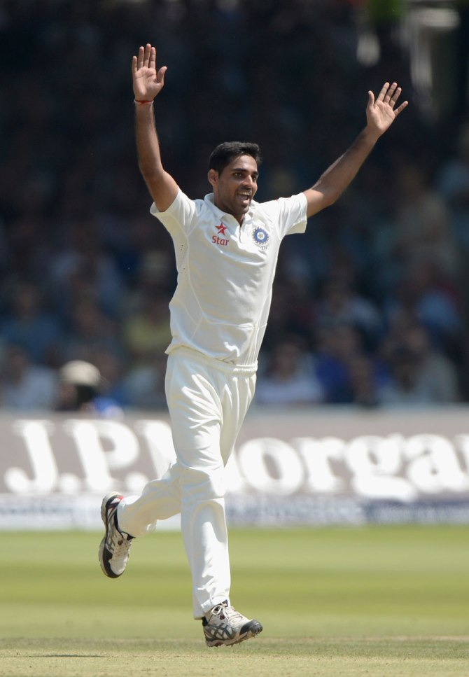 Cook, Robson, Bell and Ballance were Kumar's four victims