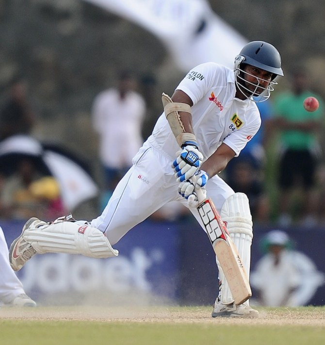 Sangakkara's unbeaten 58 put Sri Lanka in an excellent position