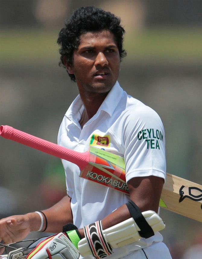 Chandimal may be forced to watch the second Test from the pavilion
