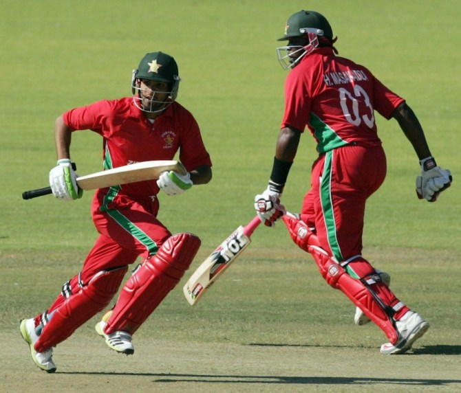 Raza and Masakadza amassed an incredible 224-run partnership