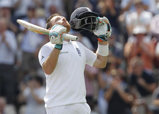 Bell demolished India's bowling attack during his magnificent knock of 167
