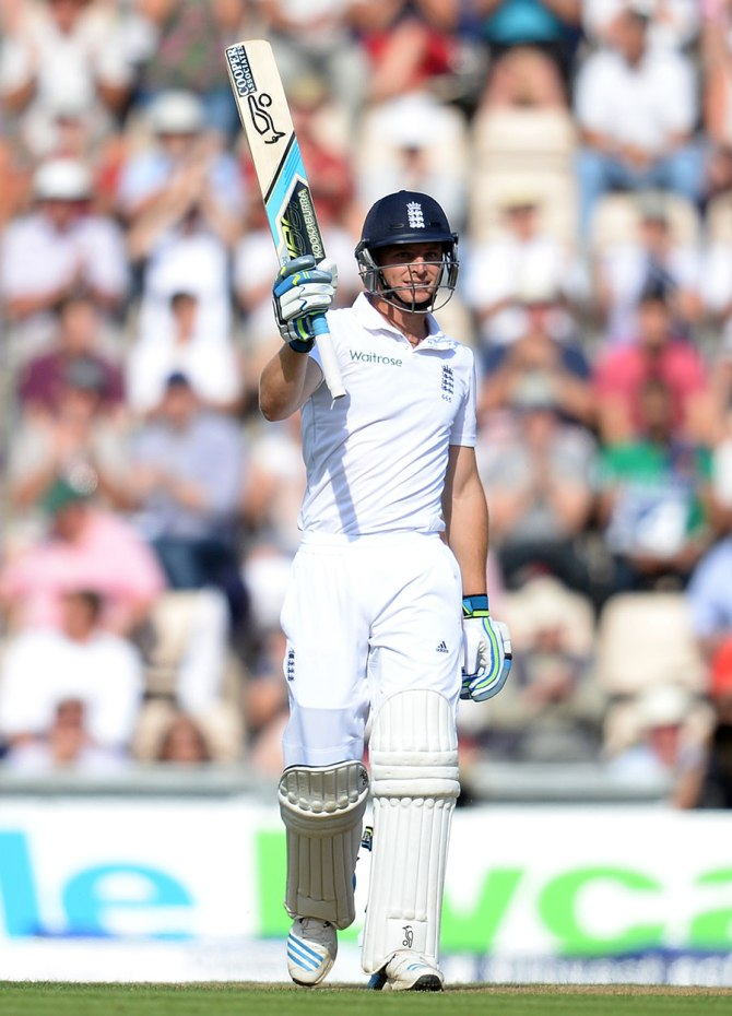 Buttler smashed nine boundaries and three sixes during his quickfire knock of 85