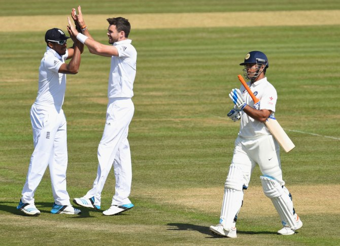 Anderson sliced through India's batting line-up