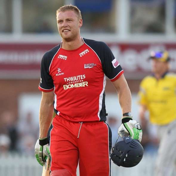 This is the closest Flintoff has come to representing Lancashire's first team