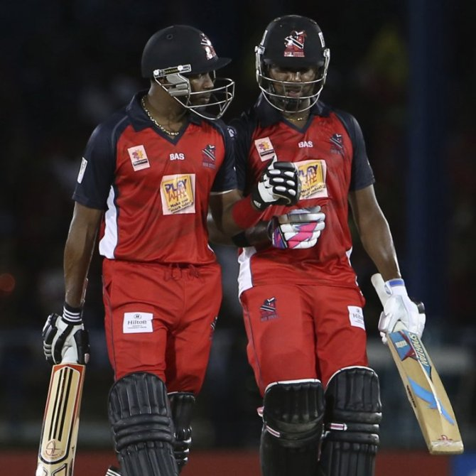 The Bravo brothers turned things around for Trinidad with their crucial 131-run partnership