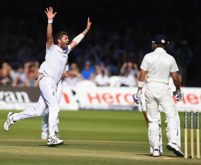 Plunkett took seven wickets in the first two Tests of the series