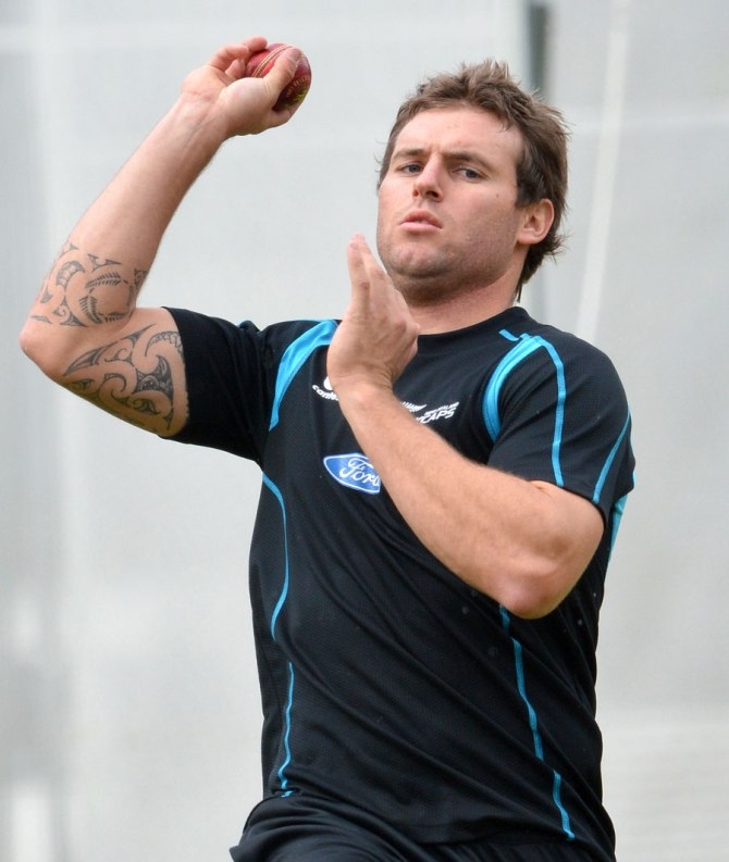 Bracewell's last Test for New Zealand came against Bangladesh in October 2013