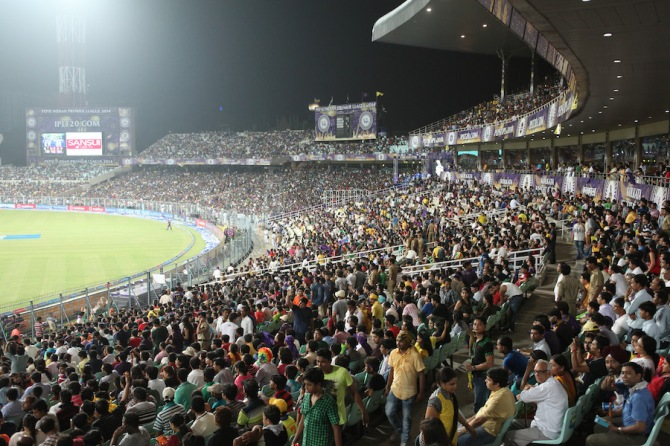 Kolkata's Eden Gardens, which is celebrating its 150th anniversary, will host one of the ODIs against Sri Lanka