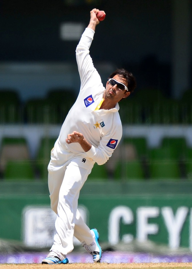 Raja believes that Ajmal will not be able to represent Pakistan in the 2015 World Cup