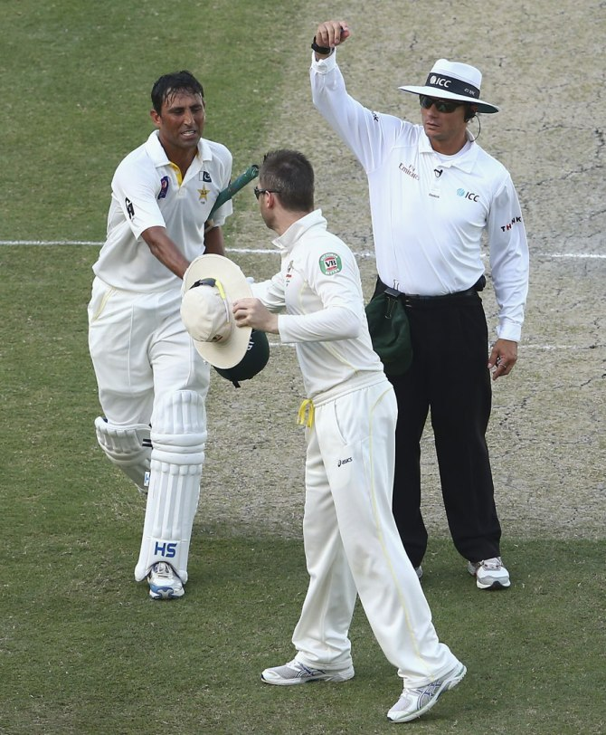 Khan has now scored more Test centuries than any other Pakistan batsman