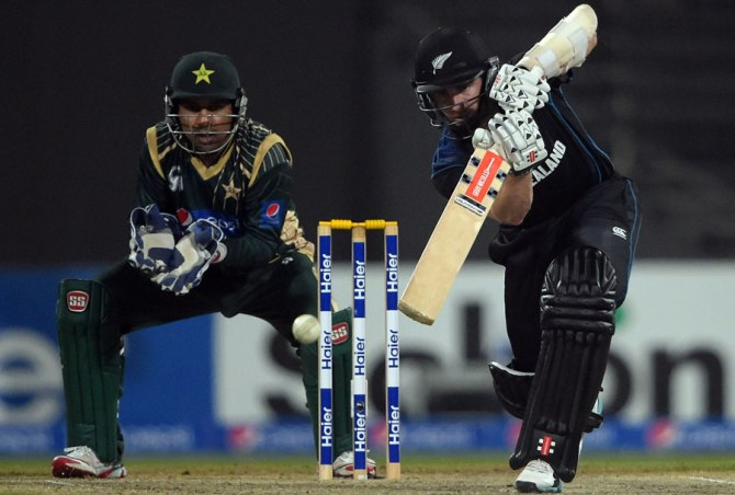 Williamson was named Man of the Match for his unbeaten knock of 70
