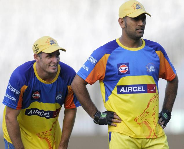 """""""Dhoni sees a brilliant thinker and man manager in Hussey who can bring calmness and camaraderie to the dressing room like [Gary] Kirsten"""""""