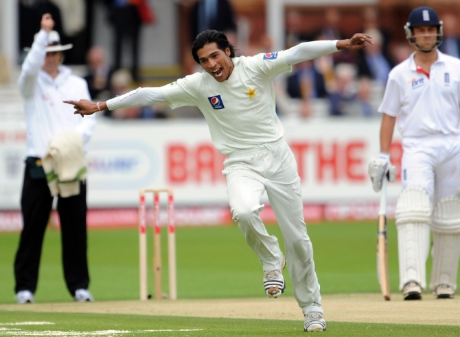 Amir has not played any competitive cricket since August 2010