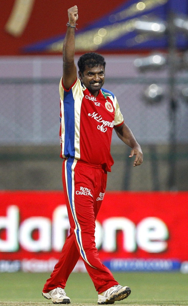 Muralitharan picked up 63 wickets during his IPL career