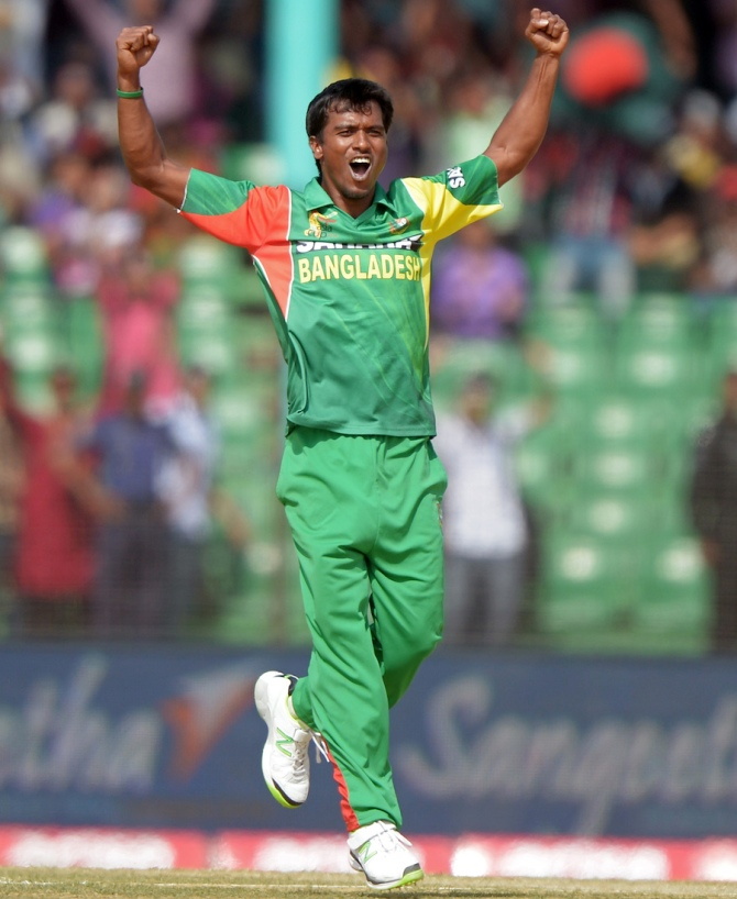 Hossain will be in action during the World Cup