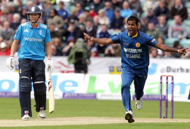 Kulasekara's last ODI for Sri Lanka came against India in November 2014