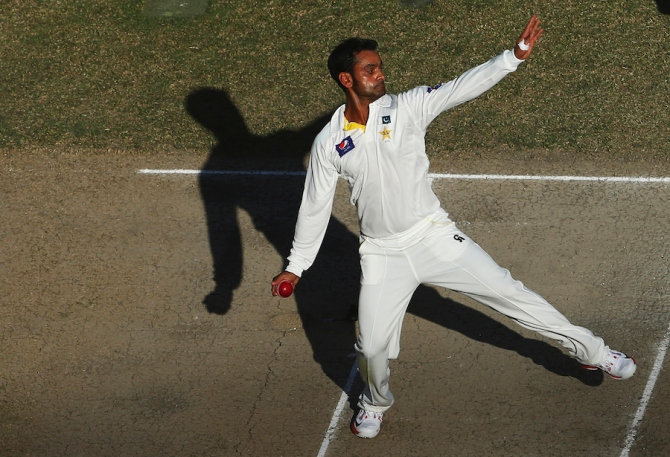 Hafeez still cannot get his action officially re-tested