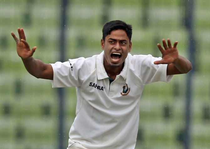 Islam took 29 wickets in six international matches last year